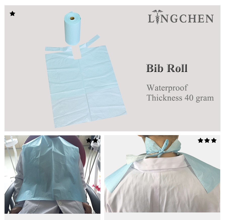 Dental Bib Roll By Roll Package Hot Sell Dental Disposable ...
