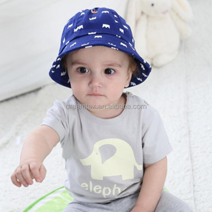 2017 Wholesale Latest Design Baby Hat Child Sun Cap Summer Hat