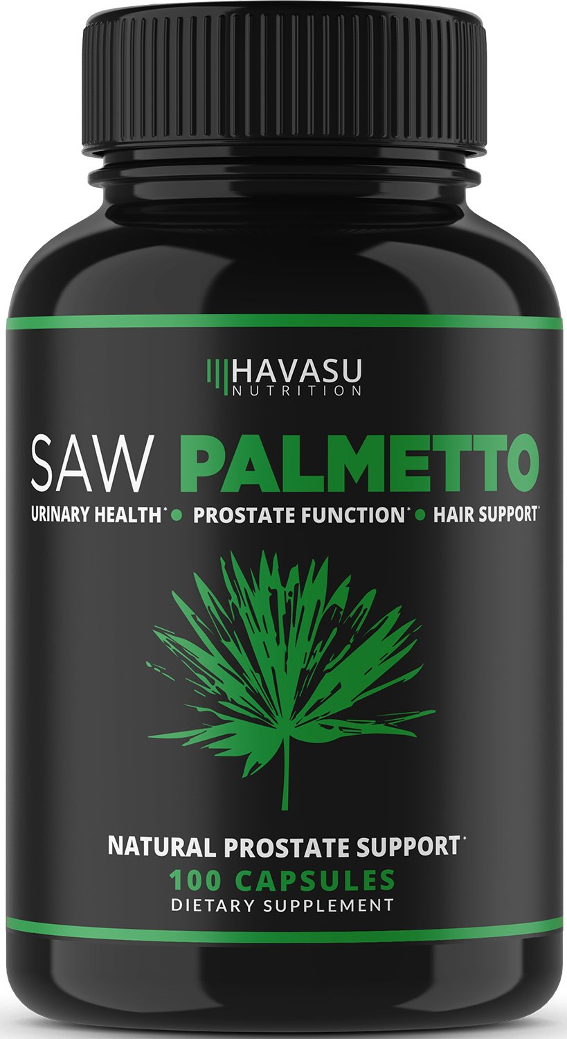 Extra Strength Saw Palmetto Supplement & Prostate Health - Prostate Support Formula to Reduce Frequent Urination and DHT Blocker to Prevent Hair Loss - Non GMO, GLUTEN FREE Prostate Supplement