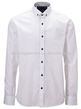 Mens white button down collar dress shirt buy mens for Where to buy button down shirts