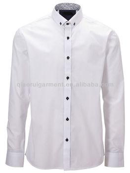 708da572b Mens White Button Down Collar Dress Shirt - Buy Mens Button Down ...