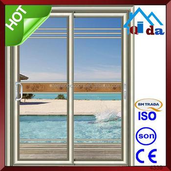Aluminum Glass Garage Door Prices Sliding Exterior Glass Louver