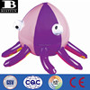Promotional customized inflatable octopus beach ball sea animal shape plastic beach ball