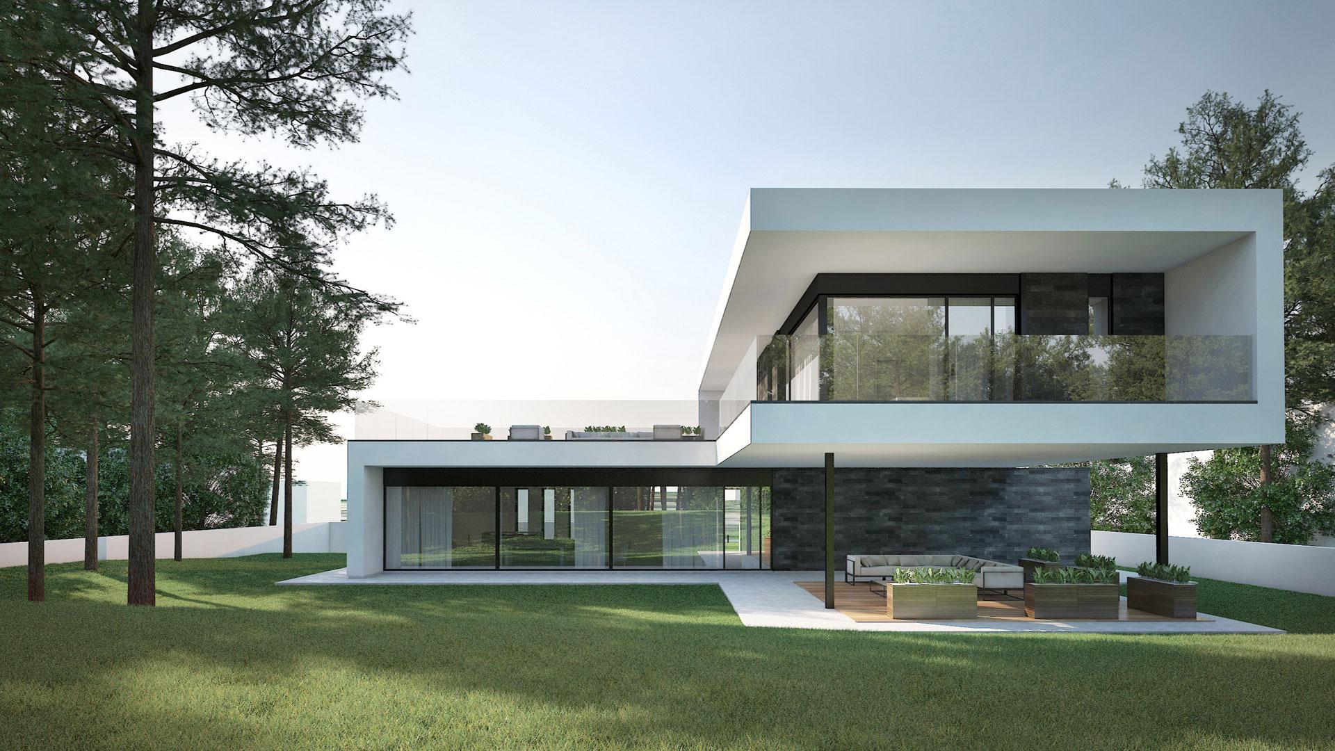 Luxury Prefab Villa,Insulation Light Steel Prefabricada Casa - Buy ...