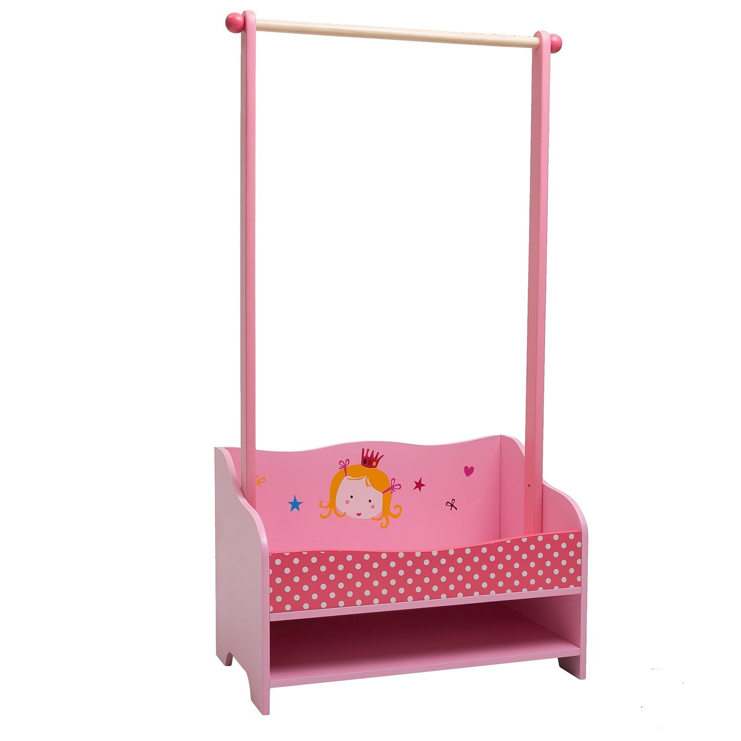 Labebe for you 3 in 1 pink baby clothes rack baby garment rack