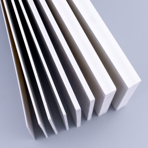 Craft 6mm 4x8 color pvc thin plastic foam sheet