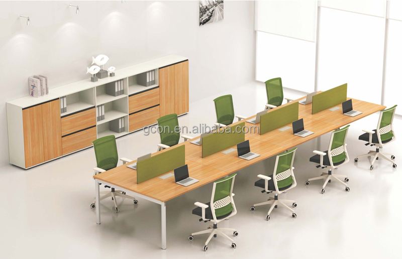 melamine rectangular conference table 10 person conference table with aluminum frame
