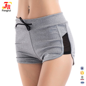 Newest Design Fashion Women Short Pants Mini Sport Shorts With Adjustable Stretchy Rope