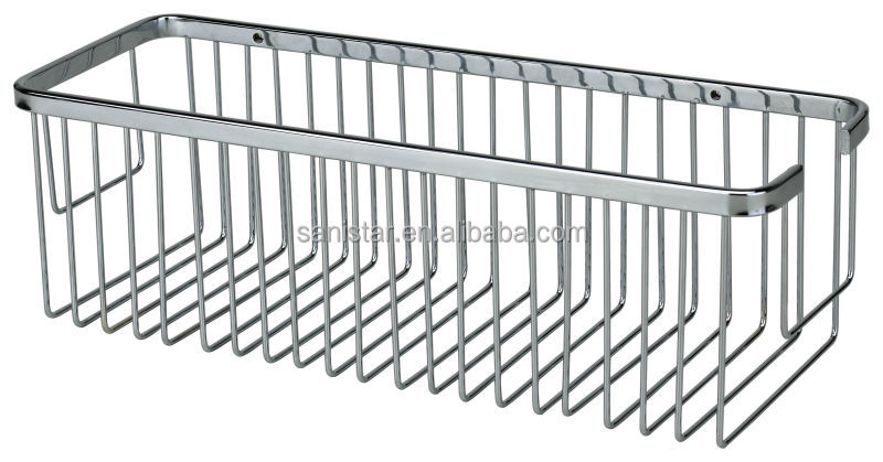 Stainless Steel Wall Mount Shower Basket For Bothroom