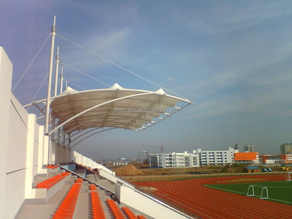 High-rise Light Weight Space Truss Structure Systems for Stadium Bleachers