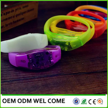 Party/Concert Multi-funtion Silicone glow in the dark bracelet