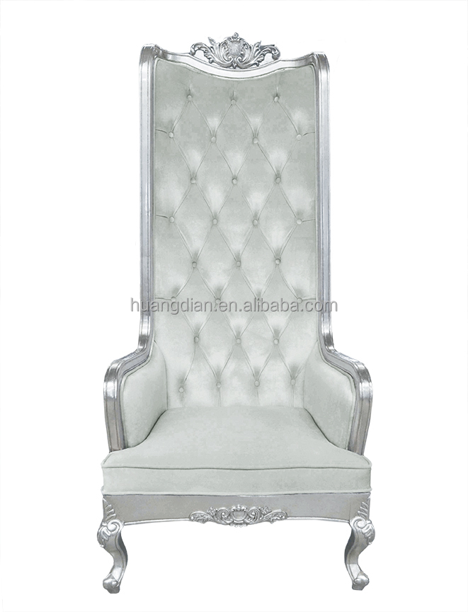 French Style High Back Throne Chair For Tc4026