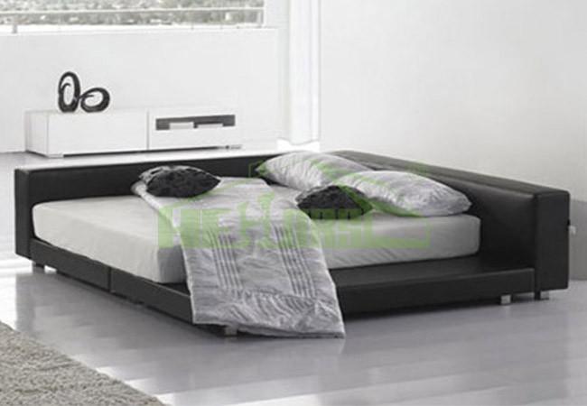modern bedroom furniture king size japanese platform bed frame on sale hb703 - Japanese Platform Bed