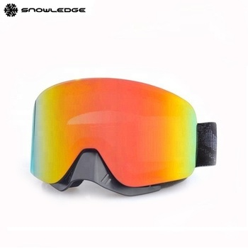 a15aea6bd15d Adults Fashion Custom brand Snow Ski Goggles With Nose Guard