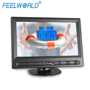 FEELWORLD 8 inch TFT VGA touch screen AV input LCD monitor for car display