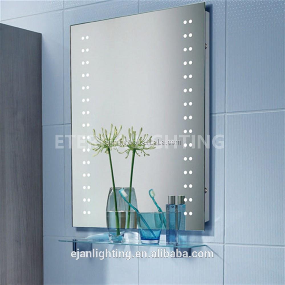 220 v 240 v led light up antibue salle de bains rasage miroir avec radio - Miroir Salle De Bain Antibuee Radio