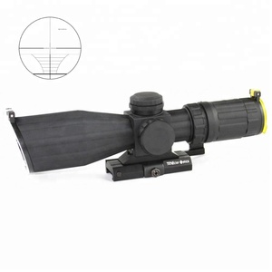 OC-15 Tactical Weapon Illuminated Integraded Sunshade Riflecope With Weaver Mount For Hunting Gun Accessories