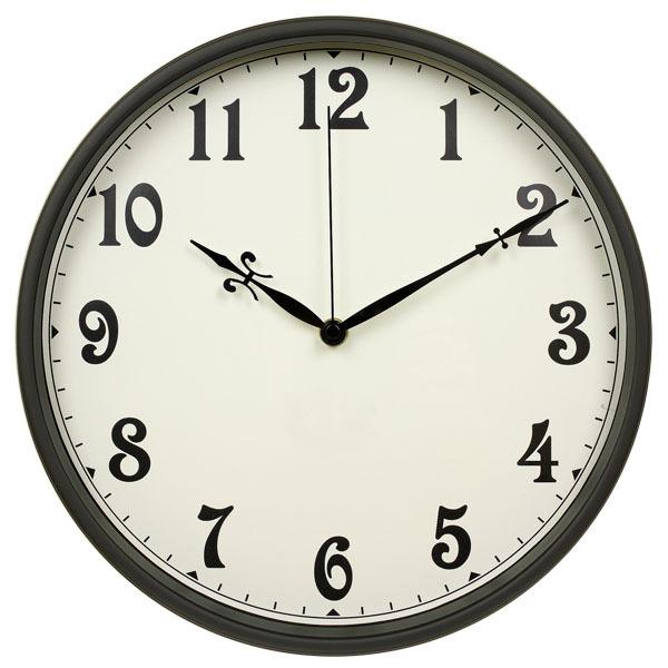 "Home Goods Clocks: 12"" Vintage Living Room Decoration Home Goods Metal Wall"