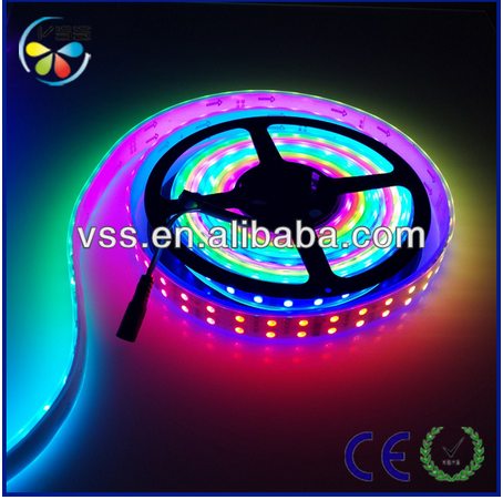 two rows 120led/m dream color led strip