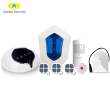 Amazon Alexa home security WiFi/GSM/GPRS alarm system,central security smart home voice control wireless security alarm system