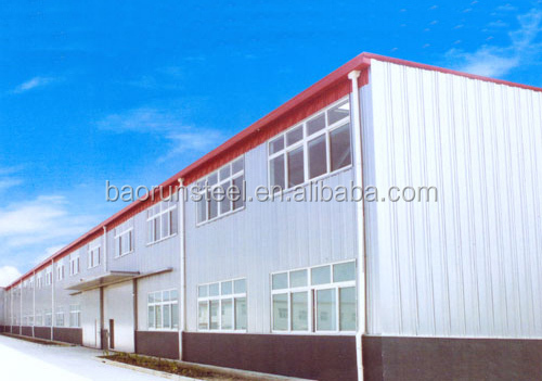 Light steel space frame roofing in building construction steel frame warehouse & workshop