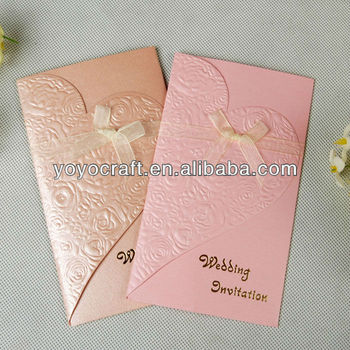 Coolwedding Favor Customized Fancy Wedding Invitation Card For