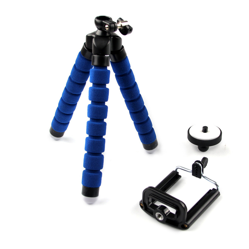 For iPhone Cell Phone Digital Camera Octopus Stand Tripod