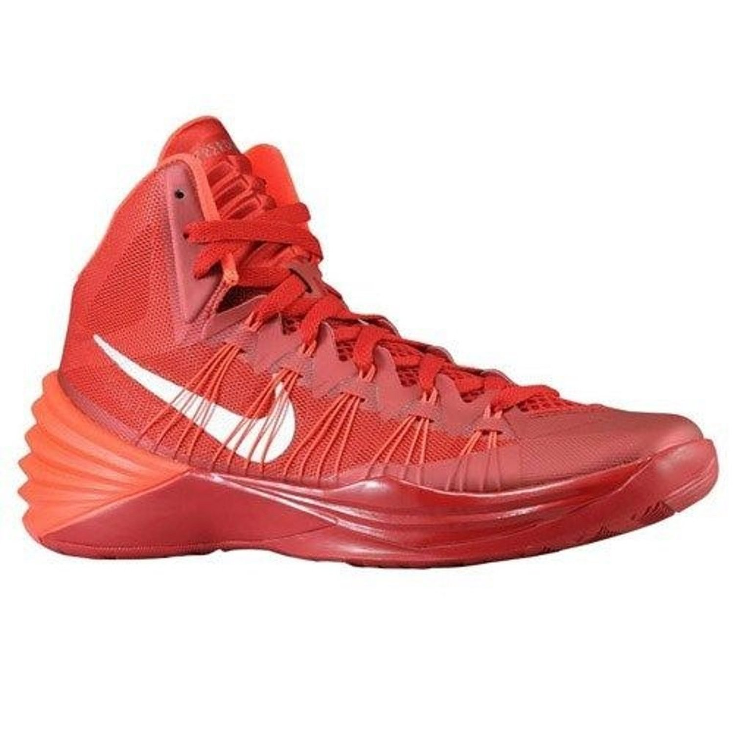 713d53ca0acf Mens Nike Hyperdunk 2013 Tb Shoes Size 13.5 Gym Red Silver Crimson 584433  600