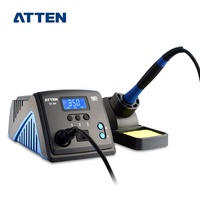 ATTEN ST-100 100W multifunction LCD display Silver alloy heater professional Soldering Station