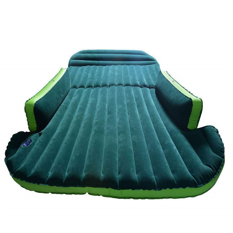 Hybrid Flocking Material Inflatable Mattress Car