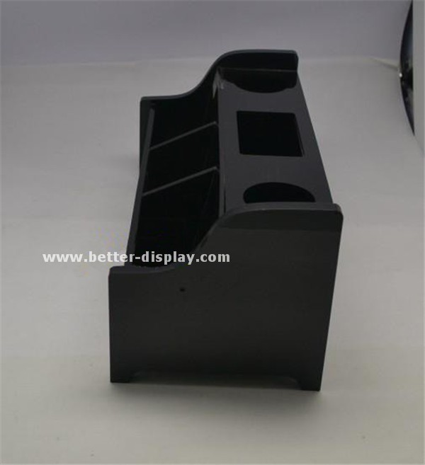 custom acrylic black tissure paper box with drawer for hotel