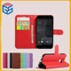 Wallet Card Holder Leather Flip Cover Phone Case For HTC One M10 Phone