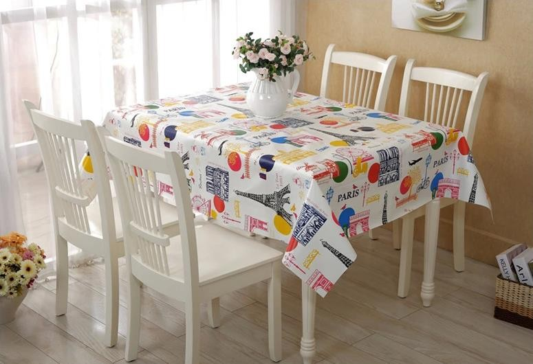 customized printing as you request fashion design plastic table mat