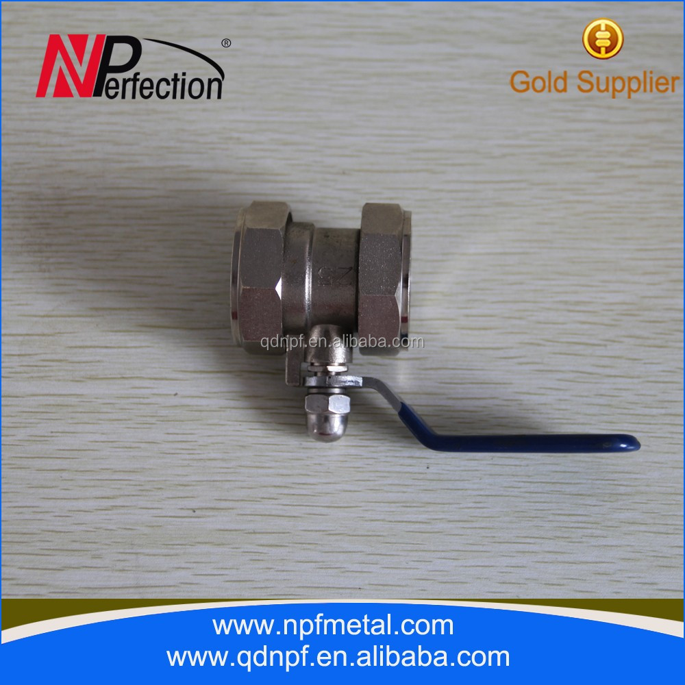 threaded brass union ball valve fuel gas ball valve g1/8 1/4 3/8 brass water heating mini style natural gas ball