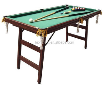 Ft Ft Mdf Small Size Foldable Billiard Pool TableKids Pool Table - Fold up pool table full size