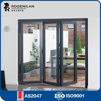 Rogenilan Cheap Folding Exterior Doors Colors Used Commercial ...