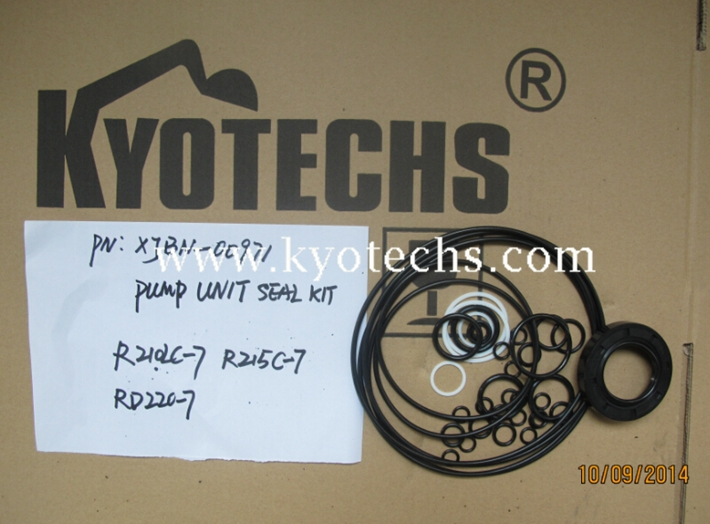 PUMP UNIT SEAL KIT XJBN-00971 R210-7 R215C-7 RD220-7