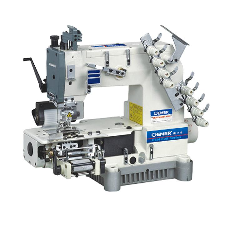 40 Needle Chain Stitch Cylinder Bed Multi Needle Elastic Feeding Delectable 4 Needle Elastic Sewing Machine