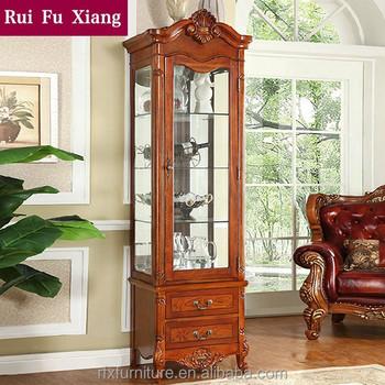 Solid Wood Living Room Furniture Wine Cabinet Z 208