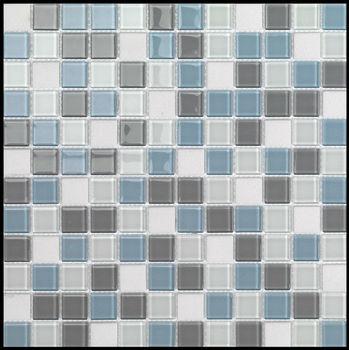 Cielo Grigio Blu E Bianca Pietra Di Vetro Mosaico Cucina - Buy ...