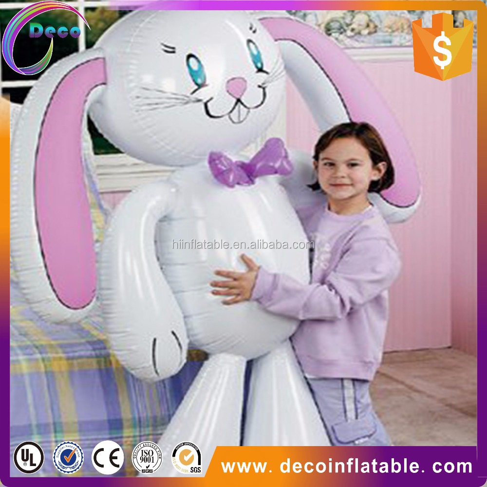 sale well portable super lovely inflatable rabbit