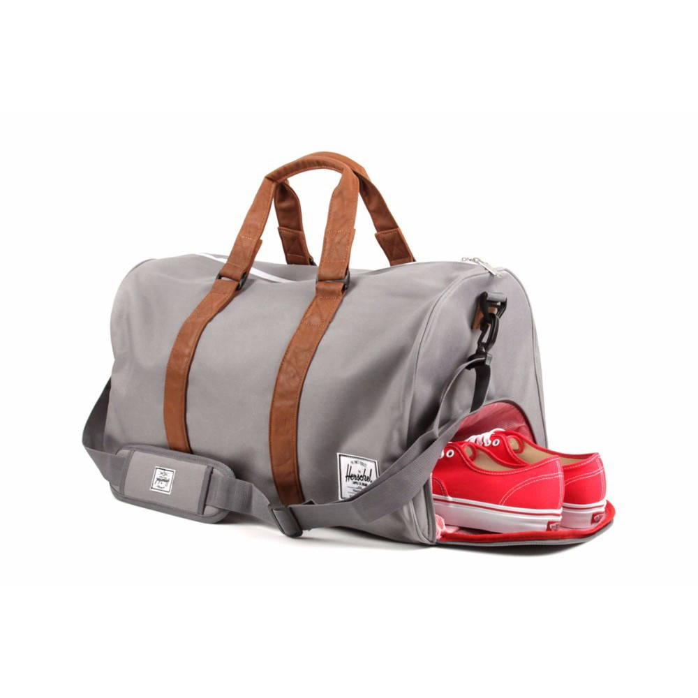 wholesale custom sports duffle bag with shoe compartment
