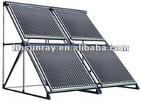 Project usage evacuated tube solar collector