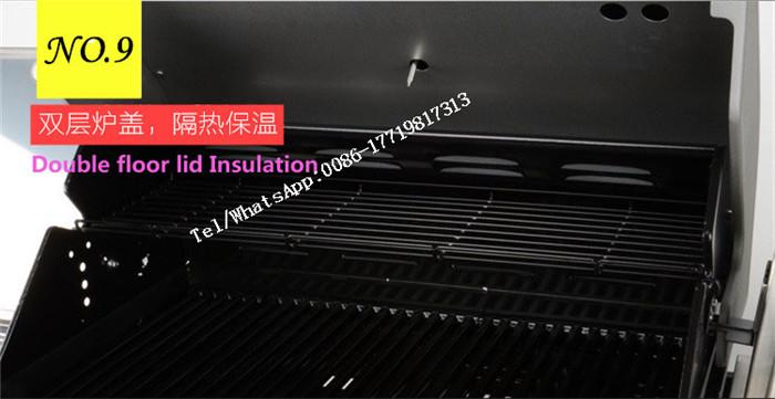 Rauchfreier Tisch Holzkohlegrill : Rauchfreien grill gruben edelstahl industrie mini tabletop