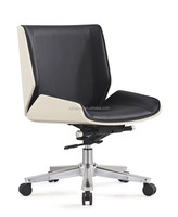 China Modern Swivel Office Chiar Manager Staff Executive Leather Ergonomic Office Chair HY3009