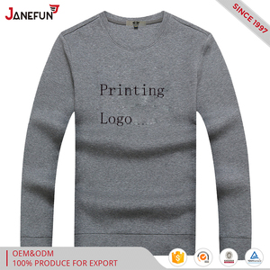 OEM service printing long sleeve t-shirt offer customized