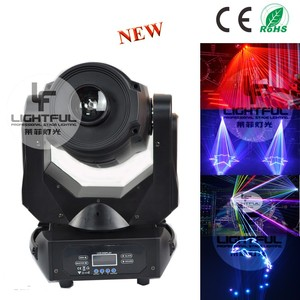 2-4W RGB moving head animation beam lazer dancing floor laser light