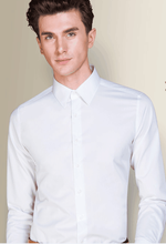 square colar wash and wear cultivate one's morality men's business shirt