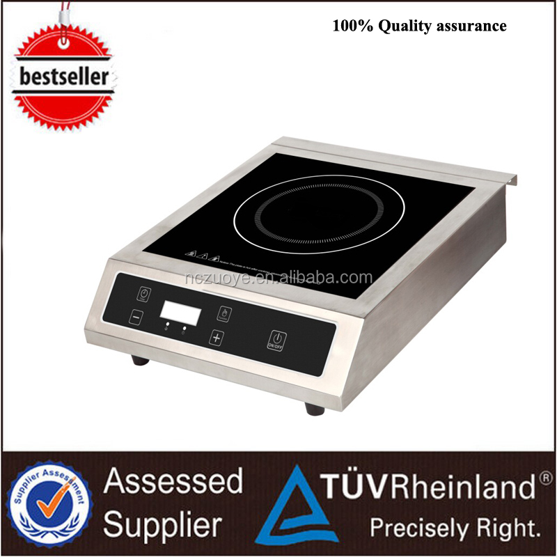 Self-cleaning oven oven cooktop with double induction ranges