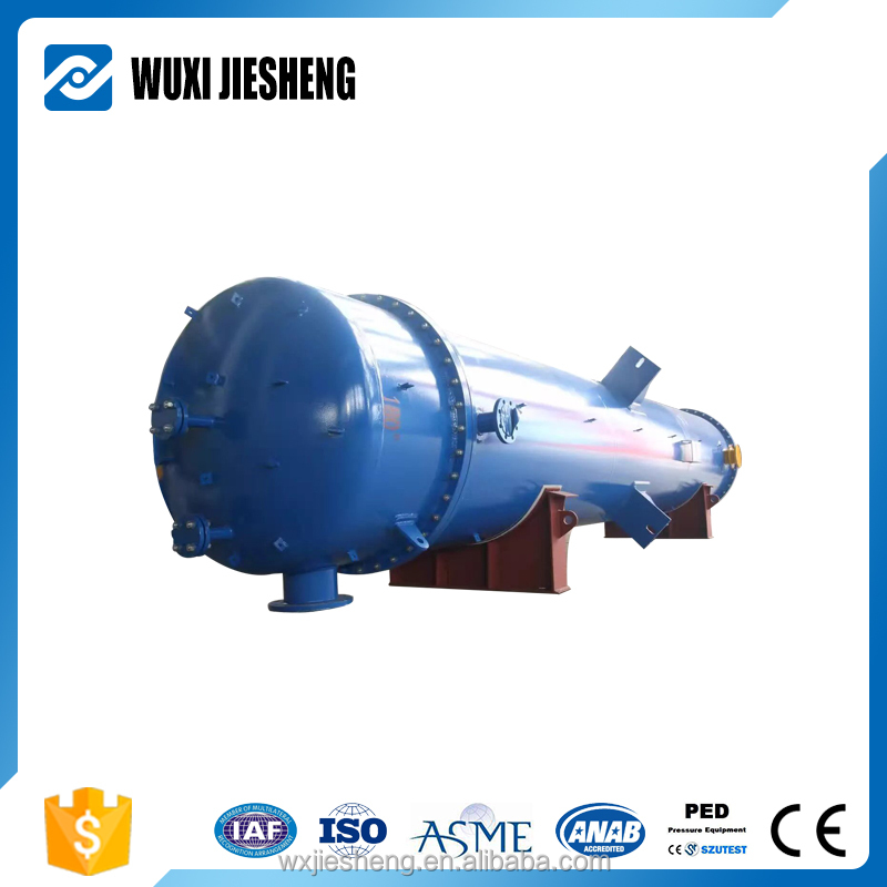 Low price waste and exhaust heat recovery chemical heat exchanger